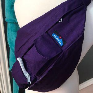 "{KAVU} ""Mysterious"" Rope Bag 👑💜"